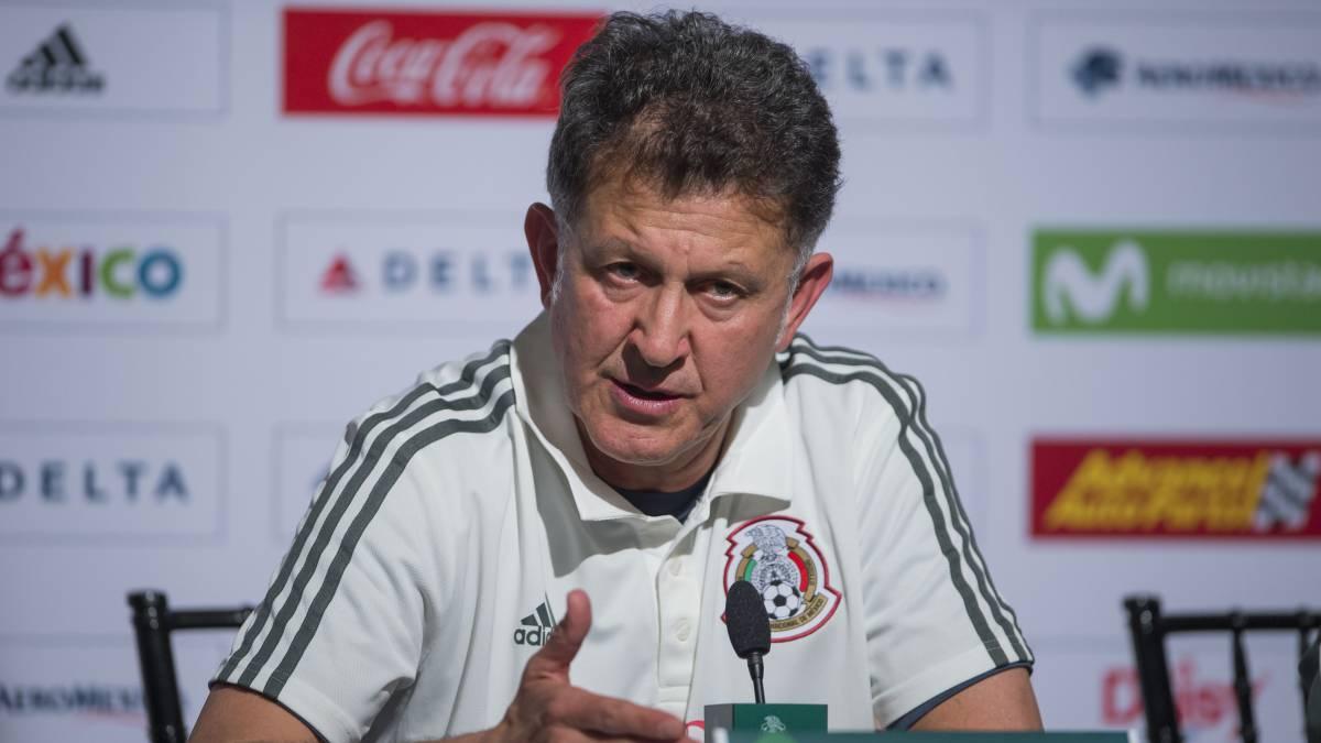 Juan Carlos Osorio, Selección Mexicana