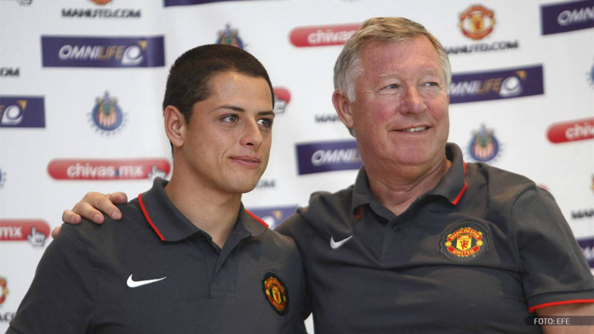 "Chicharito: ""Es como un padre"", así ve a Sir Alex Ferguson"