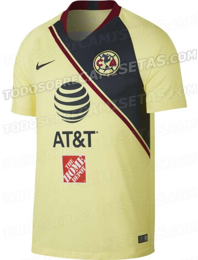 Circula en redes la posible nueva camiseta del América - AS México 939059ce88da0