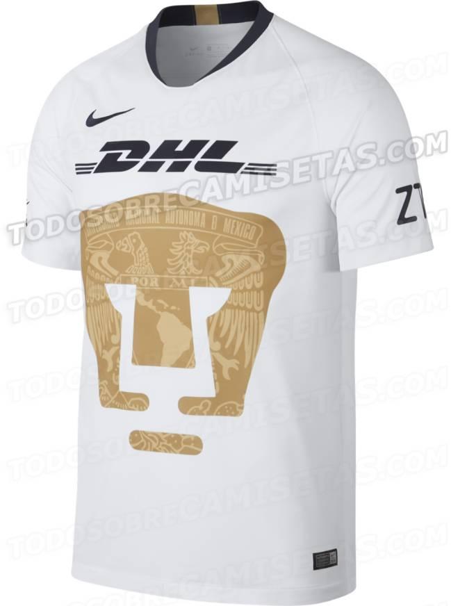 Liga MX: Se filtra posible camiseta de Pumas para el
