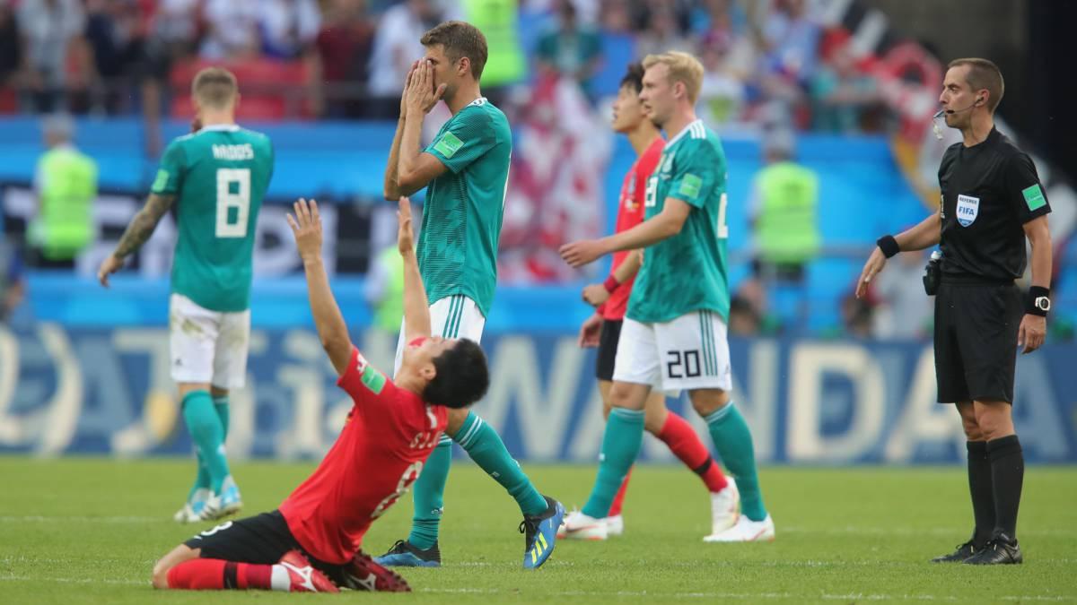 Resultado corea 2 0 alemania la campeona fuera del for Fuera de convenio 2018