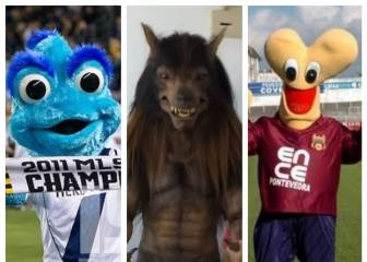The 10 weirdest mascots in international football