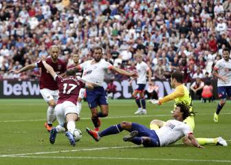 Penalti inventado de Chicharito no fue suficiente para West Ham