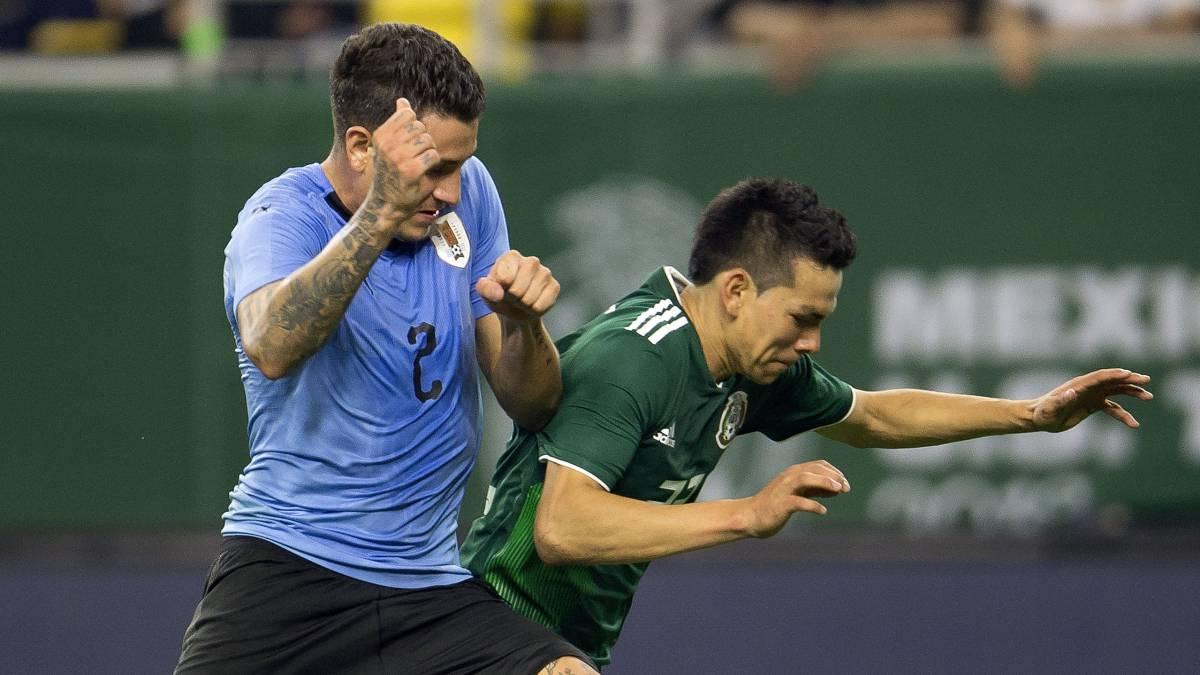 Resultado de imagen para méxico vs uruguay