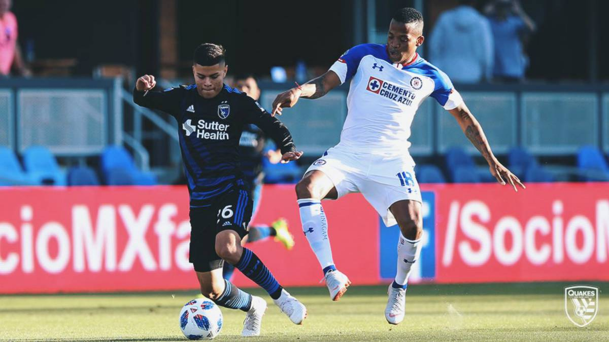 Cruz Azul vs San José Earthquakes en vivo: Amistoso