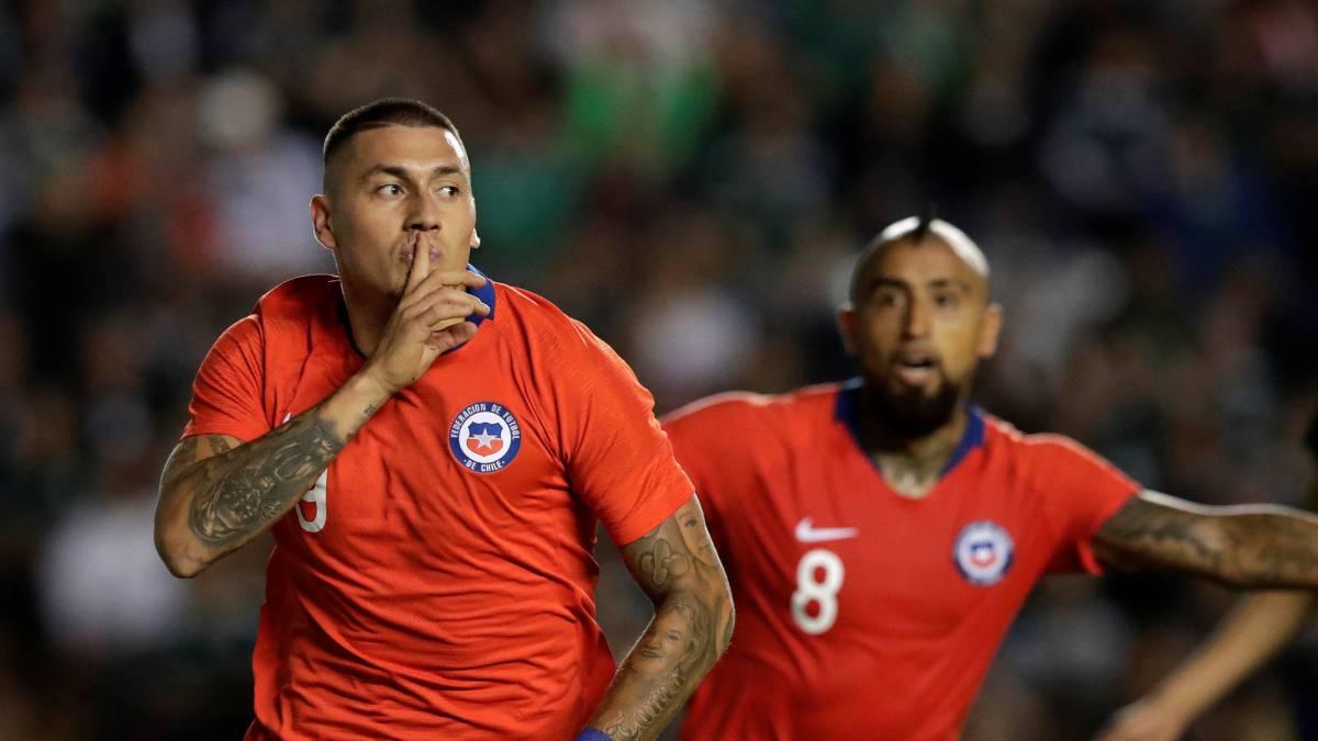 Resultado de imagen para México 0 Chile 1