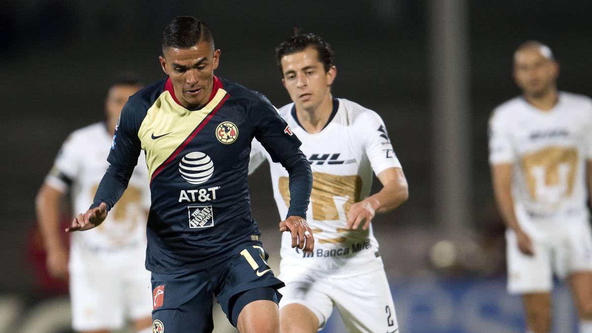 09fe93573 Pumas – América (1-1)  Resumen del partido y goles - AS México