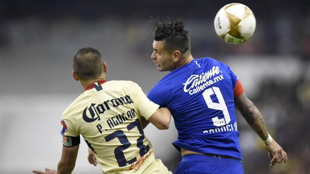 América – Cruz Azul (0-0)  Resumen del partido y resultado - AS México 68d2d287c1adb