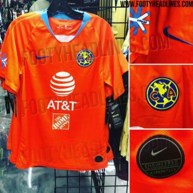 check out 6d572 61ff3 Filtran el tercer uniforme del América para el Clausura 2019 ...