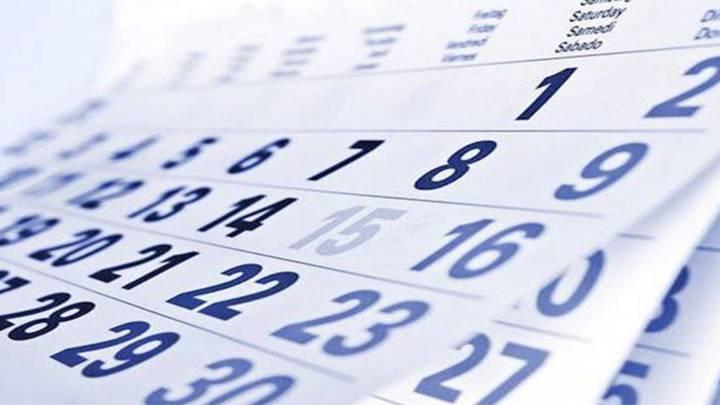 Dias Festivo Calendario 2020 Mexico.Calendario 2019 Dias Festivos Y Puentes As Mexico