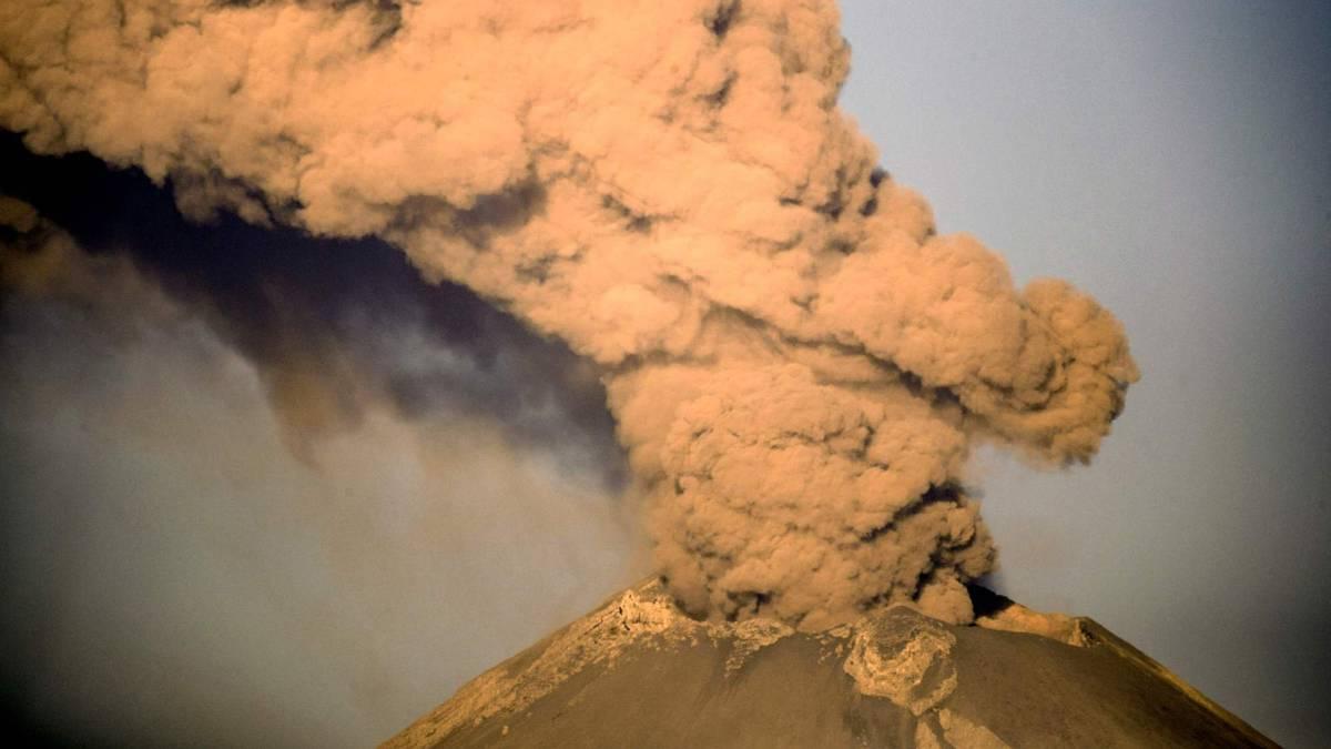 Popocatépetl: Resumen de actividad, jueves 28 de marzo ...