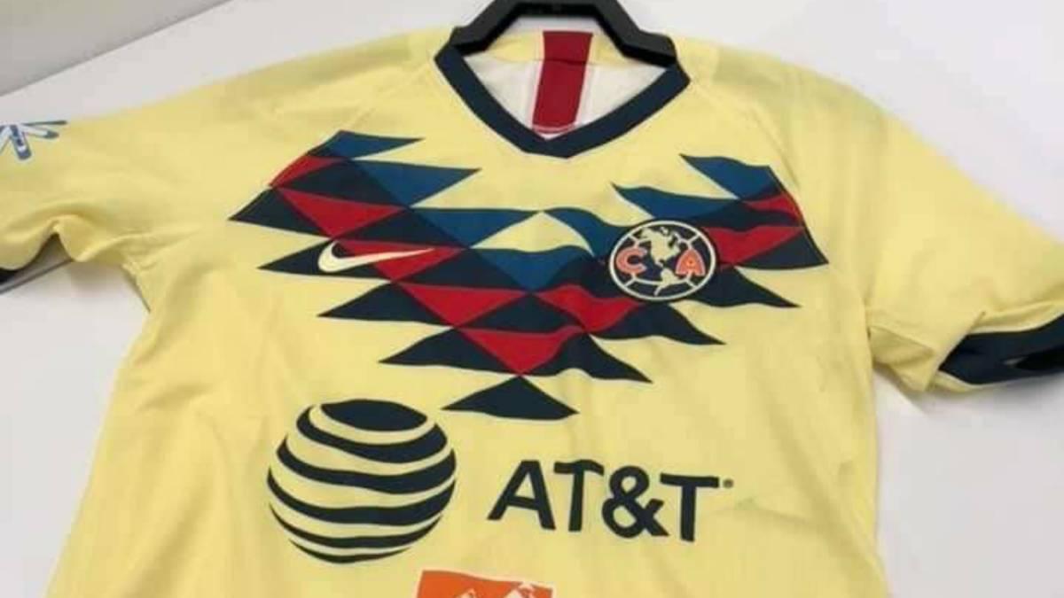 d3b0a2ca8 Circula en redes posible camiseta de local del América - AS México