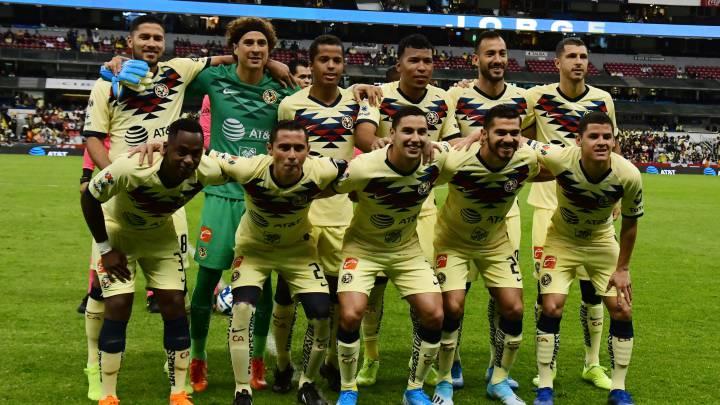 Resultado de imagen para America de mexico alineacion 2019 guillermo ochoa