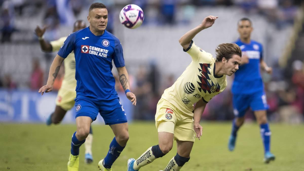 Cruz Azul - América (5-2): resumen del partido y goles - AS México