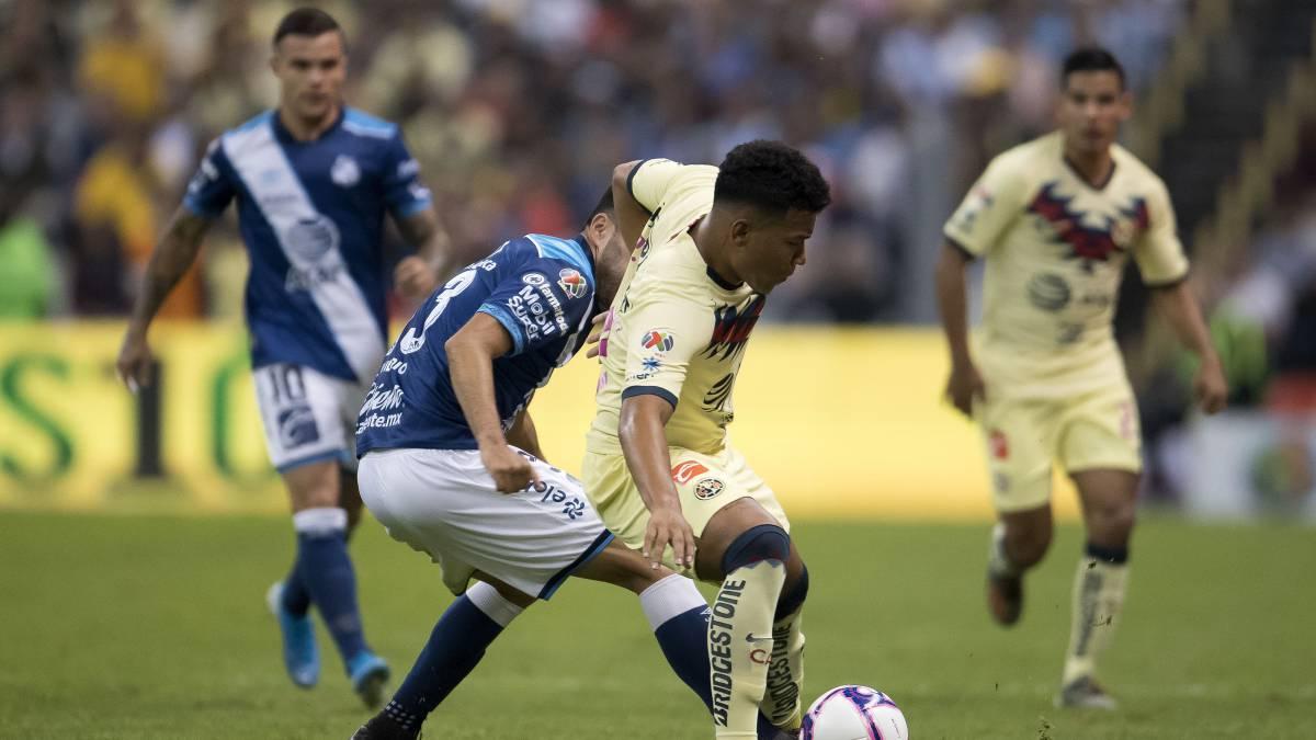 América vs Puebla (2-0): resumen del partido y goles - AS México