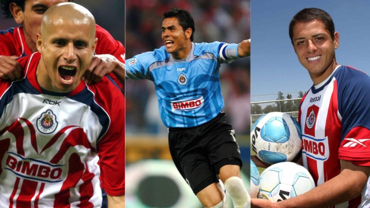 Los jugadores referentes de Chivas en la era de Jorge Vergara - AS Mexico