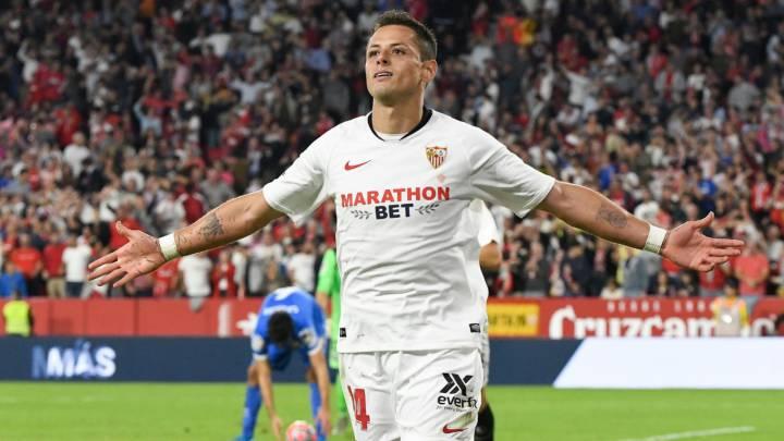Javier 'Chicharito' Hernández, Sevilla