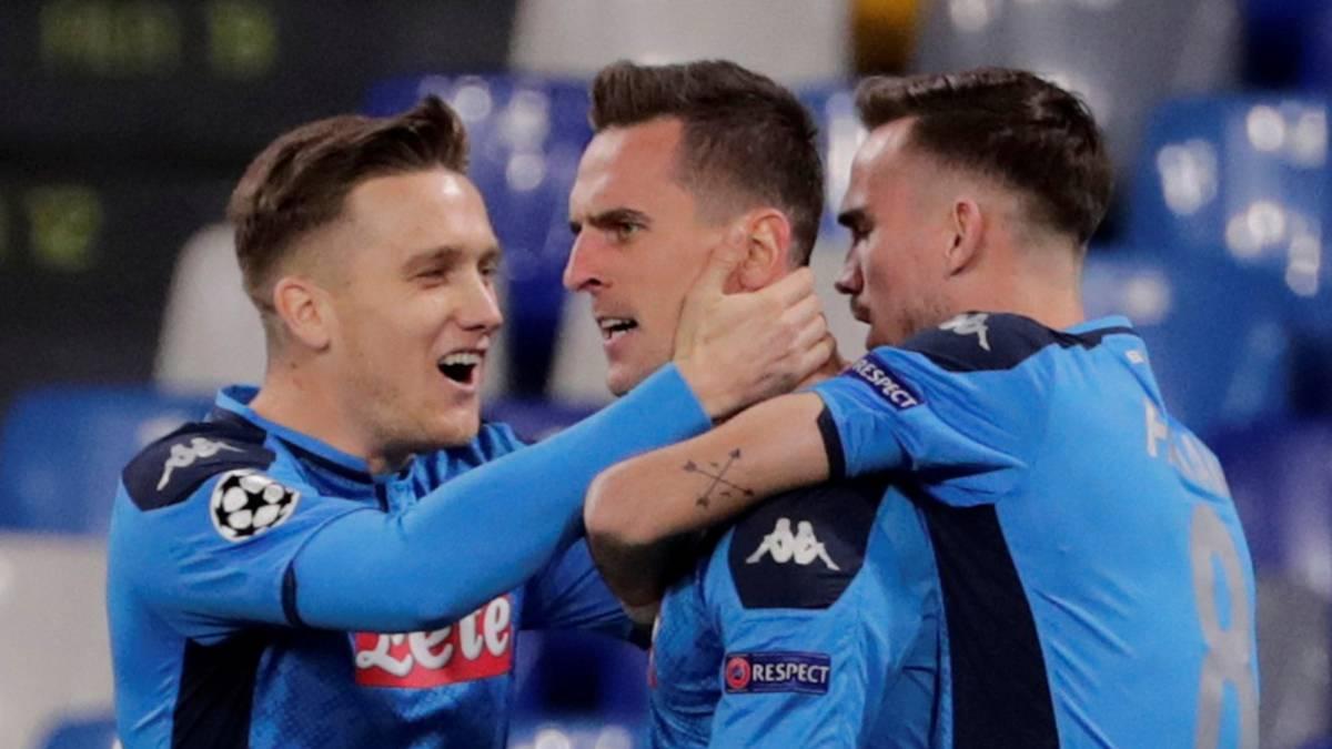 Napoli cumplió con su victoria a Genk con una goleada, pero quedo segundo en el Grupo E (Vídeo) 1575997390_311419_1576007405_noticia_normal