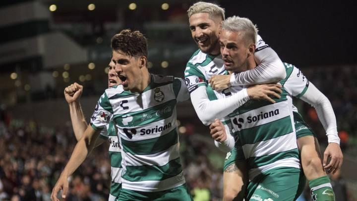 Santos Laguna derrota a León en la jornada 2 del Clausura 2020 ...