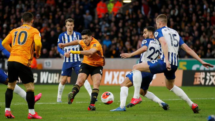 Wolves y Brighton no se hicieron daño en la Premier League