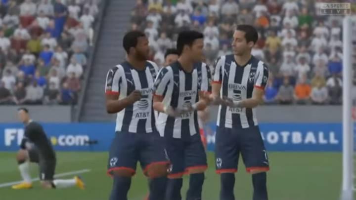Rayados vence a Necaxa en la inauguración de la eLiga MX - AS México