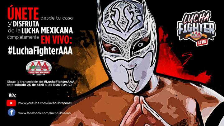 Lucha Fighter AAA Live, en vivo episodio 2, función 25 de abril