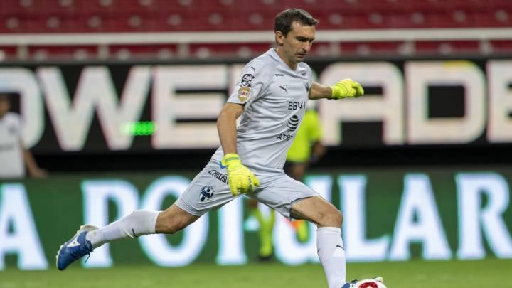 Marcelo Barovero queda fuera de Monterrey y buscaría continuar en la Liga Mx