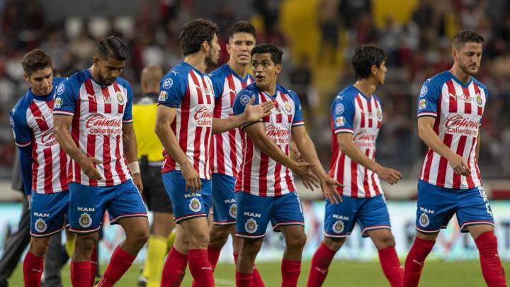 Chivas, con lesiones en pretemporada - AS México