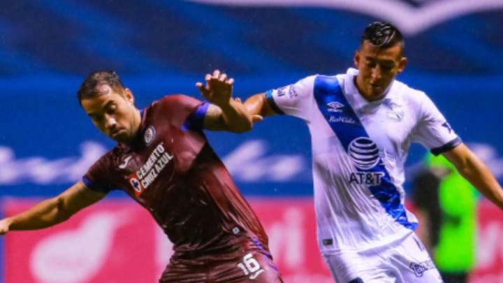 Puebla - Cruz Azul en vivo: Liga MX, Guardianes 2020 en directo
