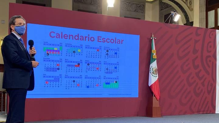 Fechas y días festivos del calendario escolar 2020 2021 de la SEP