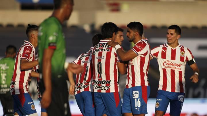 Chivas venció a Bravos de Juárez en la jornada 4 del Guardianes 2020 - AS  México