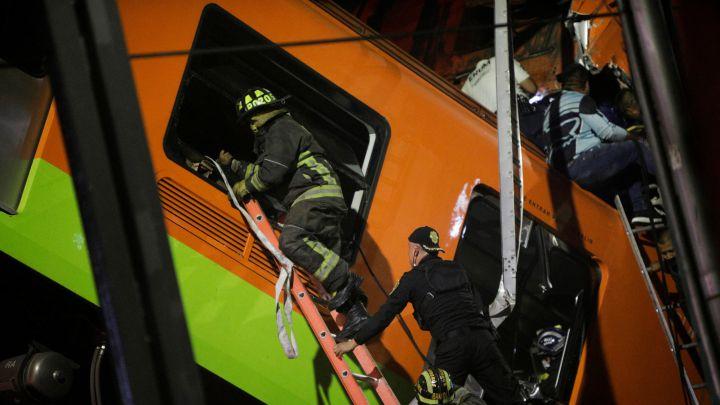 Accidente en el Metro CDMX hoy: caída de la línea 12, Metro Olivos   Última  hora, en vivo - AS México
