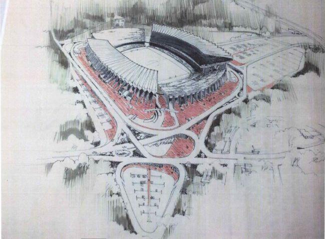 Imagen del proyecto descartado de Enrique de la Mora