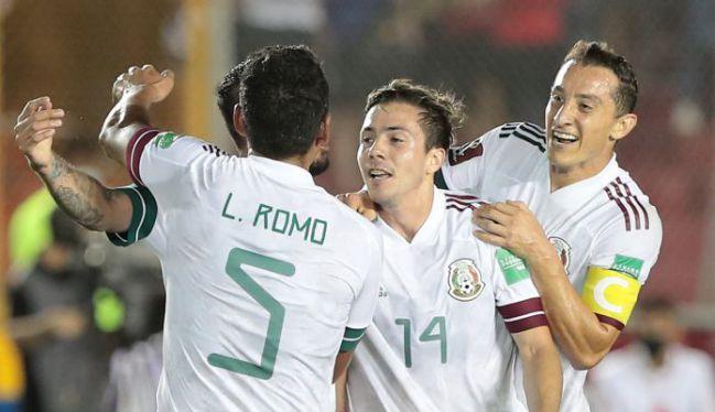 México en su partido contra Panamá