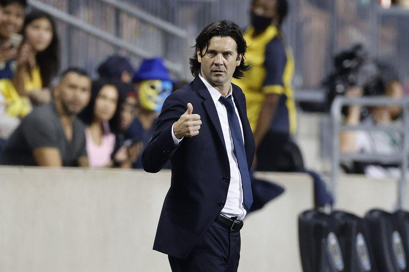 El director técnico del América, Santiago Solari, es argentino