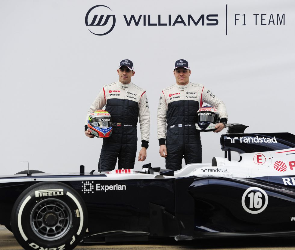 Williams presenta el FW35