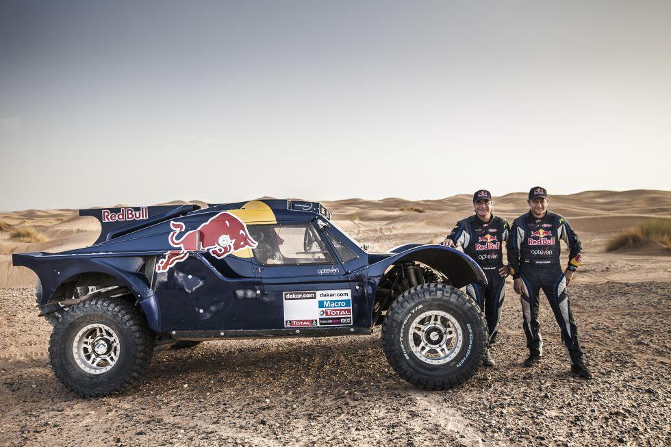 Sainz confirma que correrá el Dakar con un buggy de SMG - AS.com