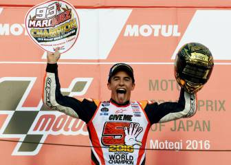 Marc Márquez seals third MotoGP title