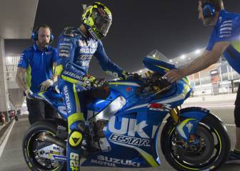 Maverick, referente de Iannone: está intentando copiar su estilo