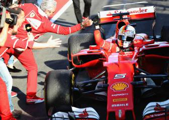 Vettel takes Mercedes by surprise to win Aussie GP