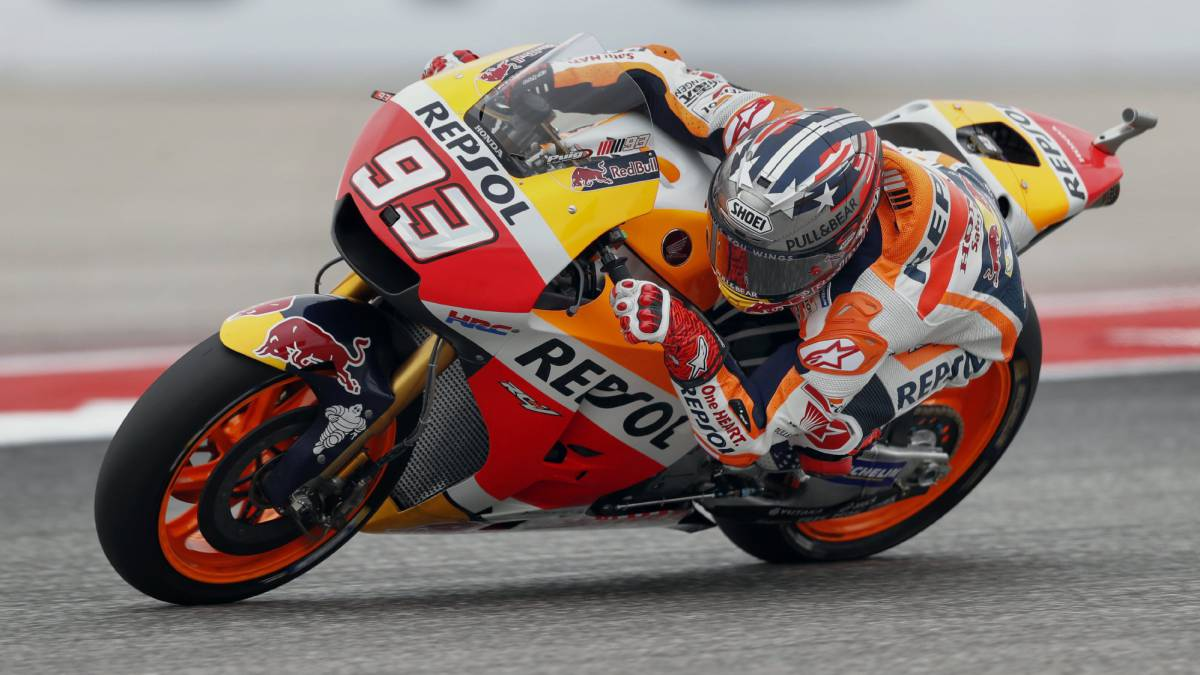 Clasificación: así queda la parrilla de Austin de MotoGP - AS.com