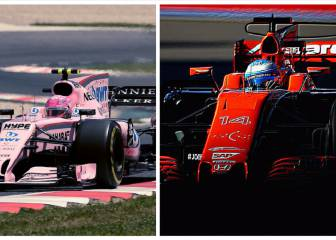 Force India y McLaren Honda: cara y cruz del Mundial 2017