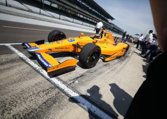 Alonso tops first Indy500 practice session