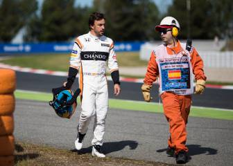Alonso's situation at McLaren