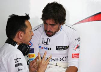 Alonso's McLaren grinds to another halt
