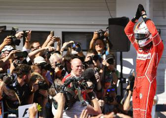 Vettel leads Ferrari one-two at Hungarian Grand Prix
