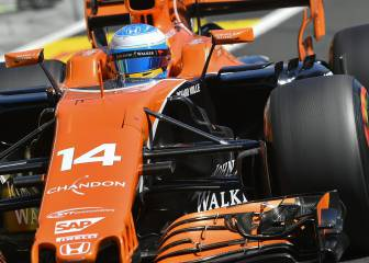Alonso returns from holidays with more power problems