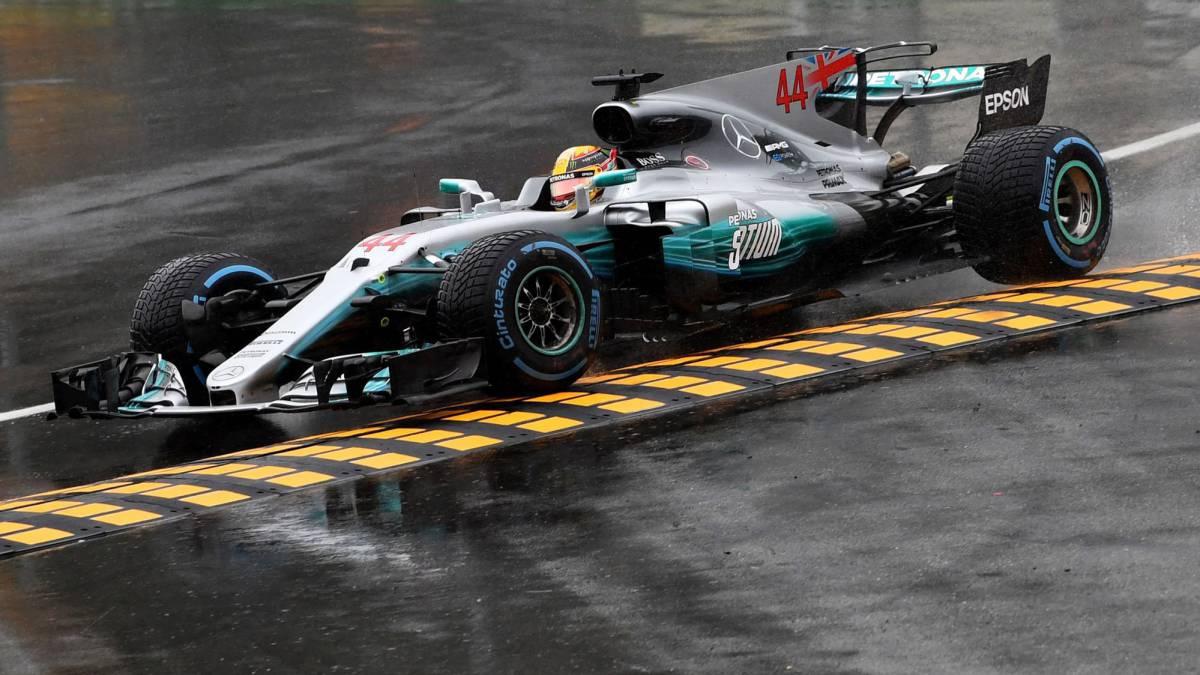 Lewis Hamilton, en Monza.