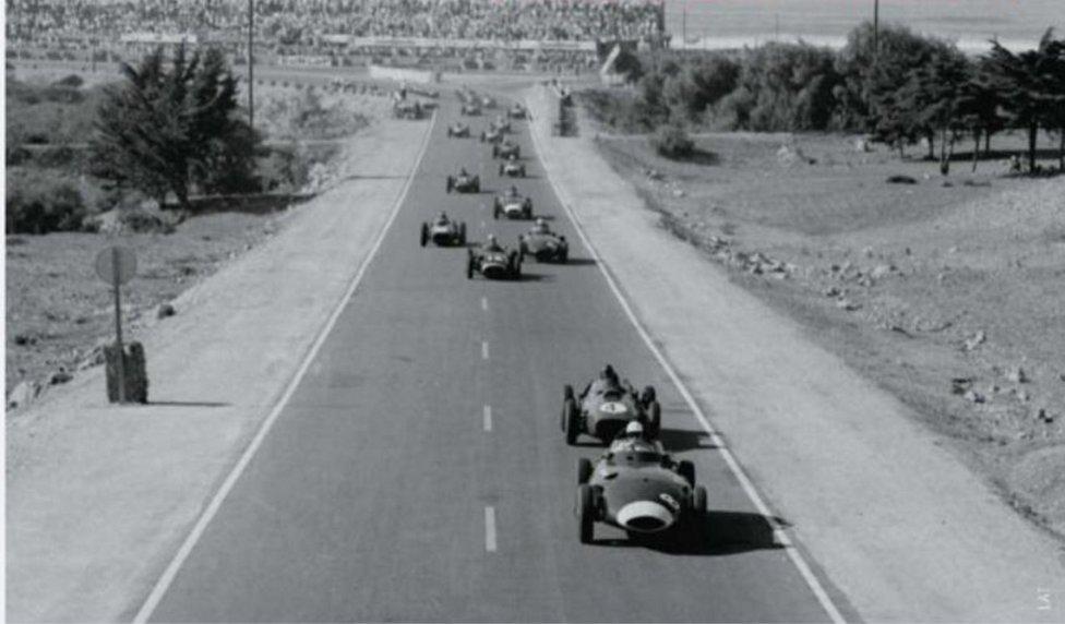 Circuito de Ain-Diab (Casablanca) Temporada 1958.