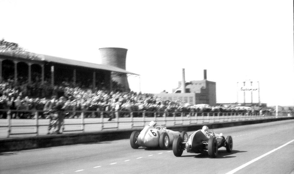 Circuito de Aintree (Liverpool) Temporadas: 1955,1957, 1959 y 1961-1962.